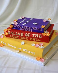 Custom Books Cake by CakeSuite, serving Connecticut and New York Book Cakes, Custom Book, Specialty Cakes, Shower Cakes, Connecticut, Wedding Cakes, York, Desserts, Music