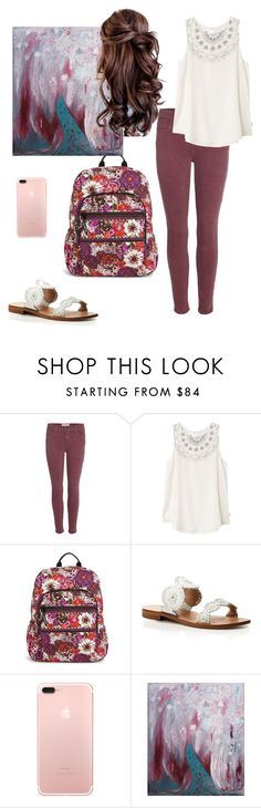 """""""Jan-NEW-ary"""" by mirandamf on Polyvore featuring Current/Elliott, RVCA, Vera Bradley, Jack Rogers and NOVICA"""