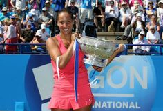 6/21/14 Madison Keys Wins Maiden Career Title In Eastbourne. In Madison's 1st FINAL, the unseeded 19-year-old became the 1st American to triumph on the Eastbourne lawns since Chanda Rubin won back-to-back Titles in 2002 and 2003.