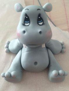 cute pig gumpaste figurine - Google Search
