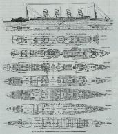 RMS LUSITANIA - I'll have to get thse for Ry to go with the deck plans for Titanic!