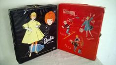 1960s Mattel Black Barbie And  Ideal Red Tammy by OldSurprises, $48.00  I had the black one on the left.