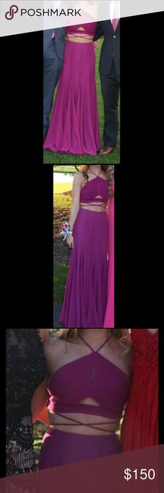 Copy of Kendall Jenner Calvin Klein Dress Purple/Pink prom or homecoming dress. Size 2, worn once, in great condition. Dresses Prom