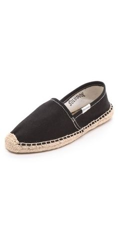 Ooh, Soludos espadrilles on sale at Shop Bop. These are the best.