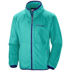 Columbia Sportswear Pearl Plush Fleece Jacket (For Girls) Columbia Sportswear, Columbia Jacket, The North Face, Plush, Pearl, My Style, Celebrities, Girls, Jackets