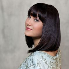 Chic, shoulder-length bob from Verde Salon's Organic Color Systems Master Class photoshoot