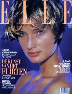 Manon von Gerkan by Gilles Bensimon, ELLE (Dutch) July 1994