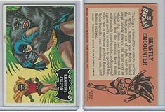 1966 Topps Batman Black Bat #50 Beastly Encounter @ niftywarehouse.com #NiftyWarehouse #Batman #DC #Comics #ComicBooks