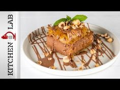 Greek chocolate custard pie by Greek chef Akis Petretzikis! The traditional Greek Galaktoboureko with a twist of chocolate! Creamy filling and a crispy phyllo! Sweets Recipes, Healthy Recipes, Chocolate Custard, Party Desserts, Yams, Candies, Sweet Treats, Deserts, Cooking
