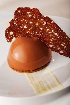 Callebaut's  Milk Chocolate Lemon Ginger Dome