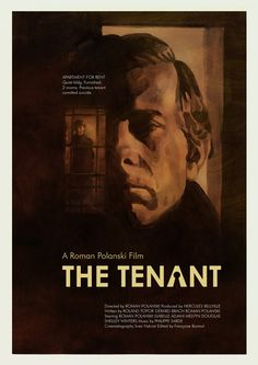 """antoniostella: """" Poster for """"The Tenant"""" - 1976 by Roman Polanski. """""""