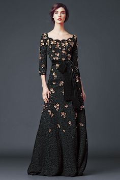 Lace Floral / Dolce & Gabbana Woman's Apparel - Collection Fall Winter 2014 2015