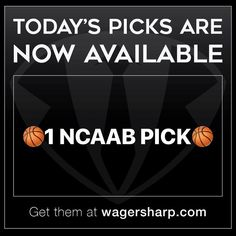First pick of today is now OUT! Get the picks on our website now: www.WagerSharp.com #win #winning #money #cash #nba #sportsbetting #handicapper #sportsbook #parlay #vegas #bet #betting #espn #sports #mlb #nhl #motivation #lasvegas #moneyline #wagersharp