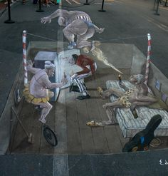 STREET ART UTOPIA » We declare the world as our canvasstreet_art_3d_eduardo relero_19 » STREET ART UTOPIA