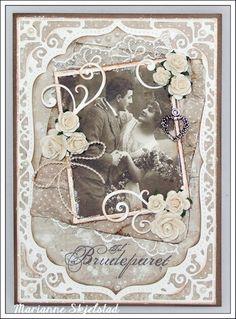 Mariannes papirverden.: Et bryllupskort