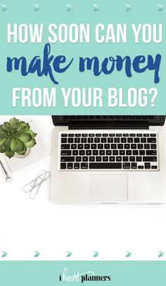How soon can you make money from your blog? Do you wonder if it's really possible to make money blogging and how long it will take before you start bringing in a profit? As someone who's successfully started a profitable blog, I'm sharing my thoughts in this post.