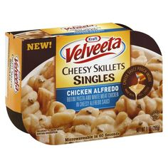 Velveeta Cheesy Skillets Singles Chicken Alfredo