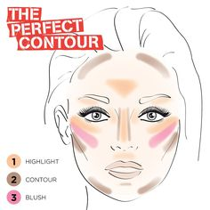 18 Easy To Do Basic Contour Makeup Tutor. - 18 Easy To Do Basic Contour Makeup Tutorials - Makeup Trends, Makeup 101, Makeup Guide, Free Makeup, Makeup Products, Easy Makeup, Makeup Ideas, Makeup Hacks, Makeup Goals