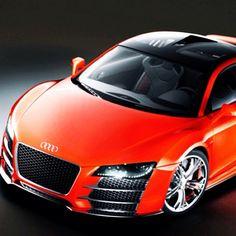 Audi R8 Orange Beast