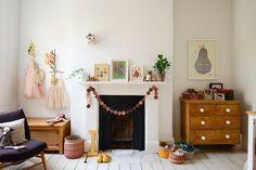 Painted Floor Ideas // inspiration pour peindre le plancher d'une chambre d'enfant