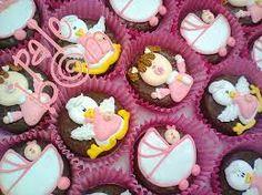 Resultado de imagen para bombones decorados para baby shower