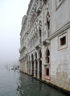 Ca d'Oro Venice - This Palazzo was built between 1428 and 1430 for the Contarini family, who provided Venice with eight Doges between 1043 and 1676.