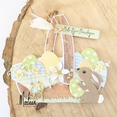 Marianne Design, Baby Cards, Paper Cutting, Scrapbook Pages, Banners, Stencil, Diy And Crafts, Craft Projects, Bunny