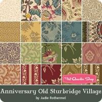Anniversary Old Sturbridge Village by Judie Rothermel for Marcus Brothers Fabrics - May 2016