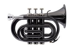Jean Baptiste Pt384b Pocket Trumpet - Black Finish, 2015 Amazon Top Rated Trumpets #MusicalInstruments
