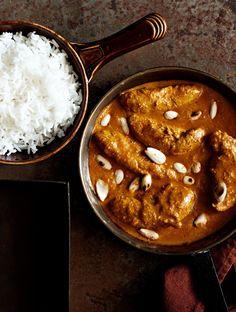 Intialainen kanakorma | Kana, Kastikkeet, tahnat ja marinadit | Soppa365 Oriental Food, Curry, Baking, Ethnic Recipes, Asian, Foods, Cakes, Food Food, Curries