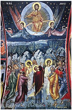 MYSTAGOGY: Participating in the Ascension of the Lord (St. Nikolai Velimirovich)