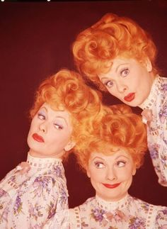 Lucille Ball. Always made me laugh. Love her.