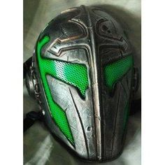 """I found 'Custom Airsoft Wire Mesh """"Templar"""" Mask - (Green)' on Wish, check it out!"""