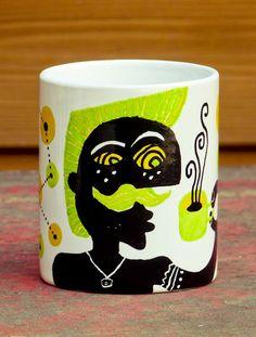 Miguel Palomar - Illustration & Design  Illustrated mugs.