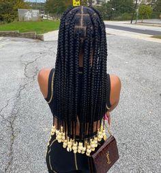 Box Braids Hairstyles For Black Women, Braids Hairstyles Pictures, Black Girl Braids, African Braids Hairstyles, Baddie Hairstyles, Braids For Black Hair, Girls Braids, Girl Hairstyles, Protective Hairstyles