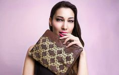 Leather pouch / Foldover zipper clutch / by HocusPocusStudio, $62.00