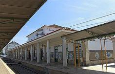 Jorge Colaço   Estação Ferroviária de / Railway Station of Beja   1940 #Azulejo #JorgeColaço