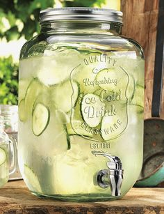 Home Essentials Mason Jar Drink Dispenser