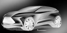 Lexus NXT on Behance