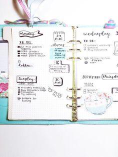 Manche mögenes verspielt und zeichnen kleine Bildchen in ihrBullet Journal.