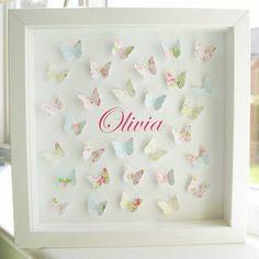 Paper Butterflies Art