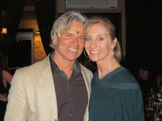 Smiling Tim Miller & Dana Rae Pare at Tim's big birthday party!