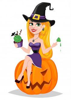 Vector Photo, Adobe Illustrator, Vector Free, Disney Characters, Fictional Characters, Witch, Beautiful Women, Disney Princess, Halloween