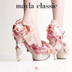 mayla classic メルボーデン パンプス ピンヒール ハイヒール ストーム ヒール 結婚式 リボン エナメル レディース 靴 ドレス パーティ 美脚 25.5 大きいサイズ 14cm 靴 美脚パンプス かわいい 【楽ギフ_包装】:楽天 Spats Shoes, Sock Shoes, Shoe Boots, Shoes Heels, Pumps, Crazy Shoes, Me Too Shoes, Weird Shoes, Unicorn Fashion
