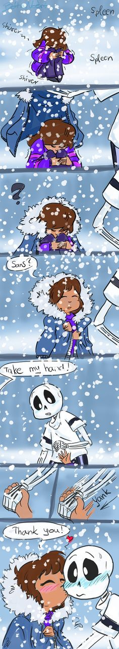 Not I'm cold by Cluny91 on DeviantArt