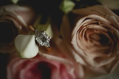 Reshma + Aniket: A Chic Indian Wedding in Sydney and Melbourne - engagement ring details - wedding day photography #thecrimsonbride