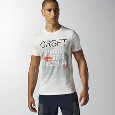 Reebok - Reebok CrossFit 'Domination Through Discipline' T-shirt