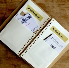 Spiral Ring Notebook midori