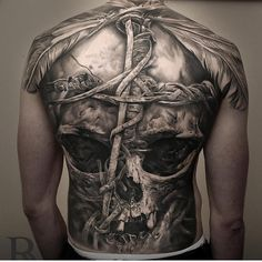 Back tattoo by Niki Norberg