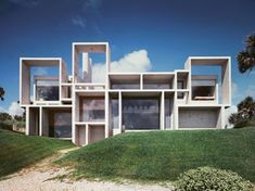 Milam Residence, Jacksonville, FLA.  By mid Century modern architect Paul Rudolph, (1918-1997).